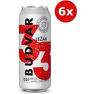 Budvar 33 6X0,5L Plech - Pivo