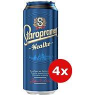 Staropramen Nealko 4X0,5L Plech - Pivo
