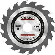 Kreator KRT020434 - Pilový kotouč na dřevo