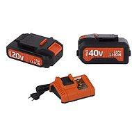 POWERPLUS Set akumulátorů a nabíječky řady DualPower - Set