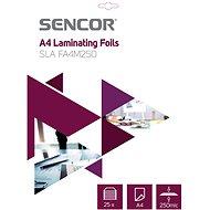 SENCOR SLA FA4M250 A4 250mic - 25pcs - Laminating Foil