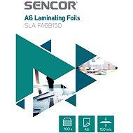 SENCOR A6/150 lesklé - balení 100 ks - Laminovací fólie
