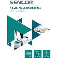 SENCOR SLA FAMM150 A4 150mic - balení 3x25ks - Laminovací fólie