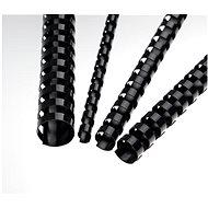 EUROSUPPLIES A4 19 mm černý - balení 100 ks - Vazací hřbet