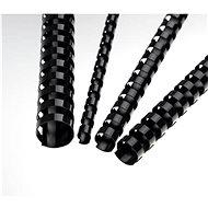 EUROSUPPLIES A4 16mm černý - balení 100 ks - Vazací hřbet