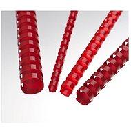 EUROSUPPLIES A4 19 mm červený - balení 100 ks - Vazací hřbet