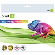 PRINT IT Multipack 950XL BK + 951XL 2xBk/C/M/Y pro tiskárny HP - Alternativní inkoust