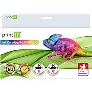 PRINT IT Multipack PGI-520 + CLI 521-2xBk/PBK/C/M/Y pro tiskárny Canon - Alternativní inkoust