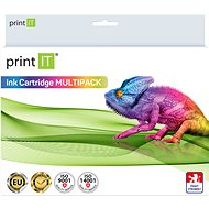 PRINT IT Multipack PGI-525 + CLI-526 2xBk/PBK/C/M/Y for Canon Printers - Alternative Ink