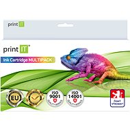 PRINT IT Multipack 950XL BK + 951XL C/M/Y/Bk pro tiskárny HP - Alternativní inkoust