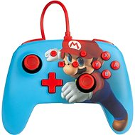 PowerA Enhanced Wired Controller - Mario Punch - Nintendo Switch - Gamepad