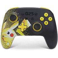 PowerA Enhanced Wireless Controller - Pokémon Pikachu 025 - Nintendo Switch
