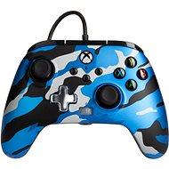 PowerA Enhanced Wired Controller - Metallic Blue Camo - Xbox
