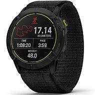 Garmin Enduro Carbon Gray DLC Titanium/Black UltraFit Nylon strap - Chytré hodinky