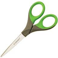 Q-CONNECT Premium 18 cm zeleno-šedé - Kancelářské nůžky