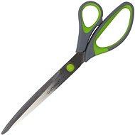 Q-CONNECT Soft Grip 25.5 cm zeleno-šedé - Kancelářské nůžky
