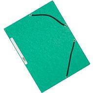 Q-CONNECT A4, zelené - balení 10 ks - Desky na dokumenty