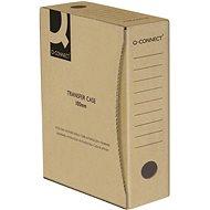 Q-CONNECT 10 l, hnědá - Archivační krabice