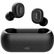 QCY T1C black - Headphones with Mic