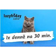 LazyFriday catio poukaz na hlídání 1x denně na 30 minut na 14 dní - Voucher: