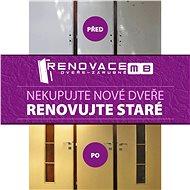 Poukaz na renovaci dveří - Voucher: