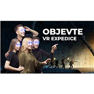 VR EXPEDICE pro 4 hráče (60 minut) - Voucher: