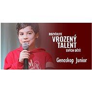 Genoskop Junior Single (pro 1 osobu) - vrozené talenty a vlohy - Voucher: