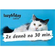 LazyFriday catio poukaz na hlídání 2x denně na 30 minut na 10 dnů - Voucher: