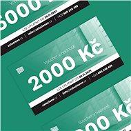 Voucher na žaluzie v hodnotě 2000 Kč - Voucher: