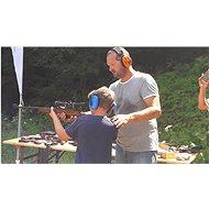 Dobrodružství na Střelnici -  Parádní balíček pro děti od 10 let - 10 zbraní, 80 nábojů - Voucher: