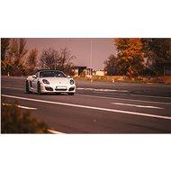 Jízda v Porsche Boxster na okruhu (polygonu) v Hradci Králové