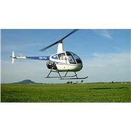 Pilotem vrtulníku na zkoušku a instruktáž - Voucher: