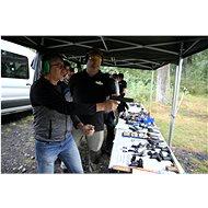 Dobrodružství na Střelnici - Super exkluzivní balíček - 20 zbraní, 155 nábojů - Voucher: