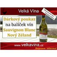 Poukaz na balíček Sauvignon Blanc Nový Zéland - Voucher: