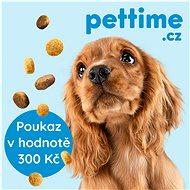 Pettime pravidelná měsíční dodávka kanadských granulí na míru vašemu psovi - poukaz v hodnotě 300 Kč