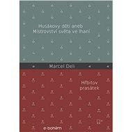 Dvojkniha Husákovy děti | Hřbitov prasátek (Marcel Deli) - Voucher:
