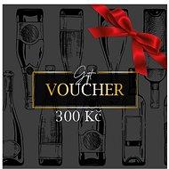 Dárkový poukaz na nákup vína ve výši 300 Kč - Voucher: