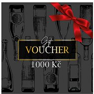 Gift voucher for the purchase of wine in the amount of CZK 1,000 - Voucher: