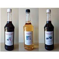 3 x 1L Farmářská ovocná vína (rybíz s rakytníkem, bezové víno a rybíz s arónií) - Voucher: