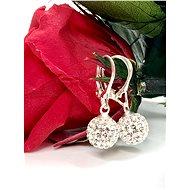 Beautiful earrings with zircons Swarovski Components - Voucher: