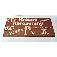 Čokoláda s vlastním motivem v dárkové krabičce - Voucher: