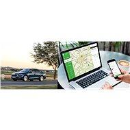 Služba GPS sledování auta a kniha jízd s poplachy na Váš mobil na 6 měsíců - Voucher: