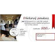Poukaz do pojízdného kadeřnického studia v hodnotě 500 Kč - Voucher: