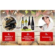 Předplatné vína BalikVina.cz na 1 měsíc - 2 láhve / každý měsíc - Voucher: