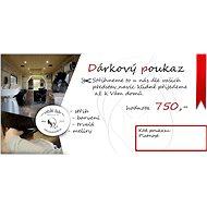 Poukaz do pojízdného kadeřnického studia v hodnotě 750 Kč - Voucher: