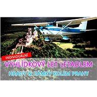 Vyhlídkový let nad nejkrásnější hrady a zámky v okolí Prahy pro 3 osoby - ZÁPADNÍ / VÝCHODNÍ variant - Voucher: