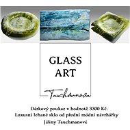 Dárkový poukaz Glass - Art Jiřina Tauchmanová v hodnotě 3300 Kč.