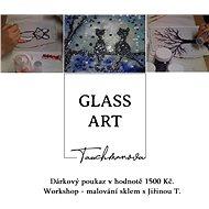 Dárkový poukaz  Workshop - malování sklem s Jiřinou Tauchmanovou