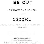 Dárkový poukaz Be Cut na 1500 Kč - Voucher: