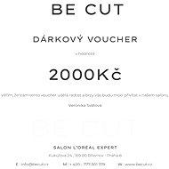 Dárkový poukaz Be Cut na 2000 Kč - Voucher: